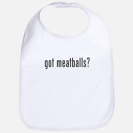 got meatballs Bib