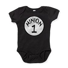 Cute Minion Baby Bodysuit