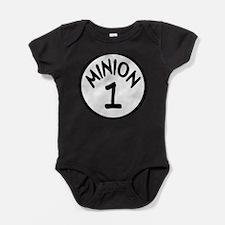 Cute Minions Baby Bodysuit