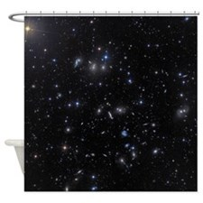Hercules Galaxy Cluster Shower Curtain