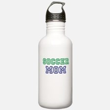 Soccer Mom (Add A Title, Coach Etc) Water Bottle