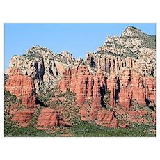 Rocks near Sedona, Arizona 3 Poster