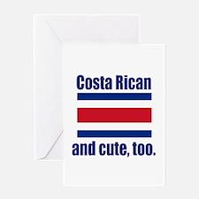 Cute Costa Rican Greeting Card