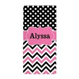Pink personalized Beach Towels