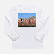 Rocks near Sedona, Arizona 3 Long Sleeve T-Shirt