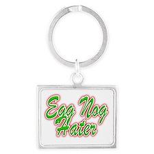Egg Nog Hater Landscape Keychain
