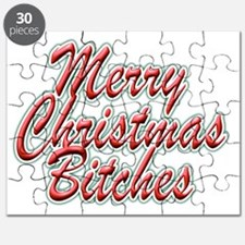 Merry Christmas Bitches Puzzle