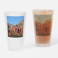 Rocks near Sedona, Arizona 3 Drinking Glass