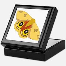 Unique Moths Keepsake Box
