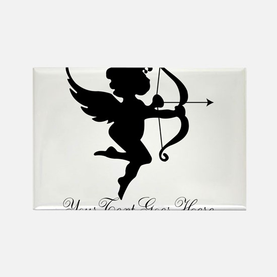 Valentines Day Gifts Cupid Rectangle Magnet