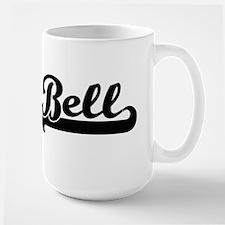 Bell surname classic retro design Mugs