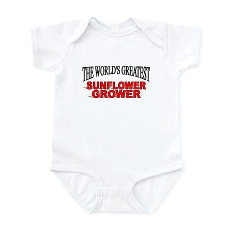 """The World's Greatest Sunflower Grower"" Infant Bod"