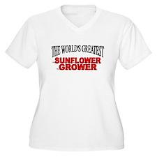 """""""The World's Greatest Sunflower Grower"""" T-Shirt"""