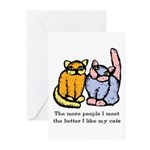 I Like My Cat Greeting Cards (Pk of 20)