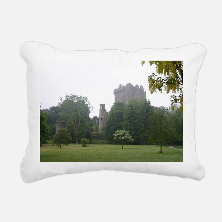 Cute Blarney castle Rectangular Canvas Pillow