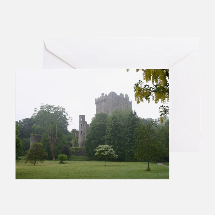 Cute Blarney castle Greeting Card