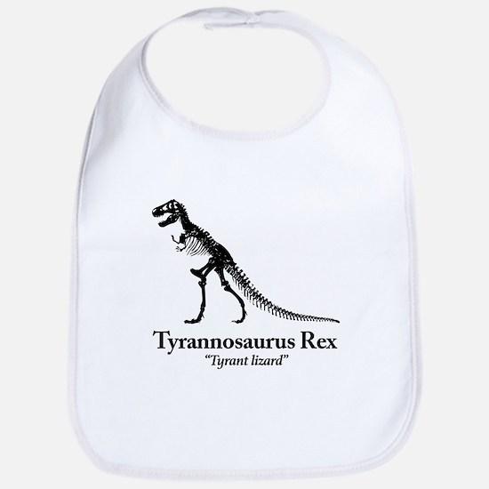 tyrannosaurus rex Tyrant Lizard Baby Bib