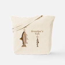 My Fish, Grandpa's Fish Tote Bag