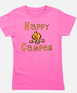 Happy Camper Girl's Tee