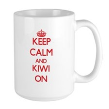 Keep calm and Kiwi ON Mugs
