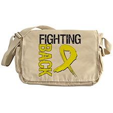 Endometriosis Fighting Back Messenger Bag