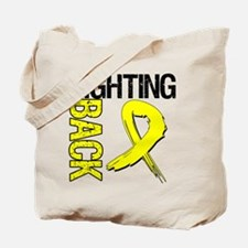 Endometriosis Fighting Back Tote Bag