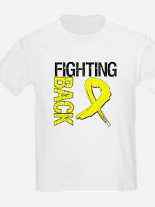 Endometriosis Fighting Back T-Shirt