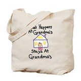 Grandma Regular Canvas Tote Bag