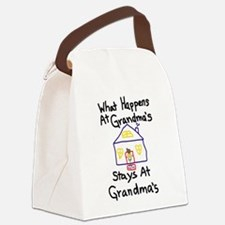 Grandma's House Canvas Lunch Bag