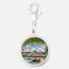Bungalow And Hammock On Exotic Beach Charms