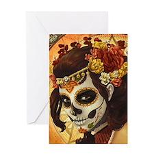 Dia De Los Muertos Greeting Cards