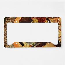 Dia De Los Muertos License Plate Holder