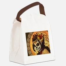 Dia De Los Muertos Canvas Lunch Bag