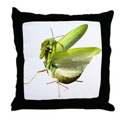 Mantis Throw Pillow