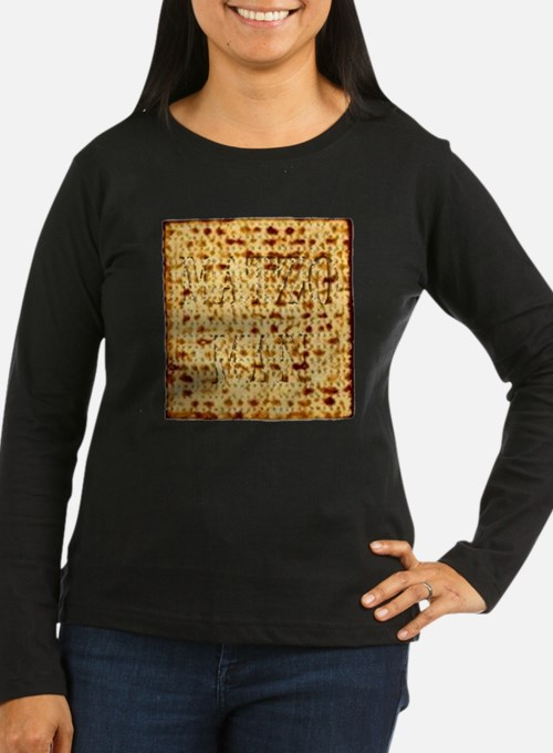 Matza Passover holiday Jewish Long Sleeve T-Shirt