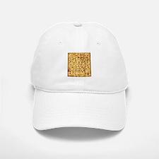 Matza Passover holiday Jewish Traditional Brea Baseball Baseball Cap