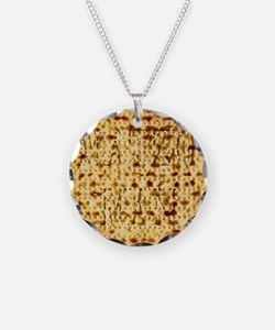 Matza Passover holiday Jewis Necklace