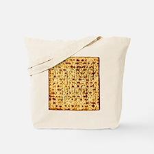 Matza Passover holiday Jewish Traditional Tote Bag