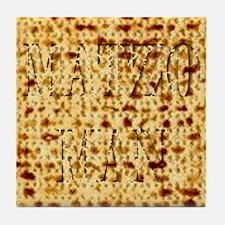 Matza Passover holiday Jewish Traditi Tile Coaster