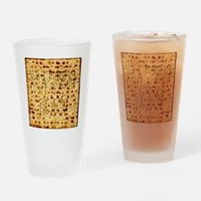 Matza Passover holiday Jewish Tradi Drinking Glass