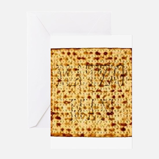Matza Passover holiday Jewish Tradi Greeting Cards