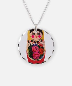 Funny Russia doll Necklace