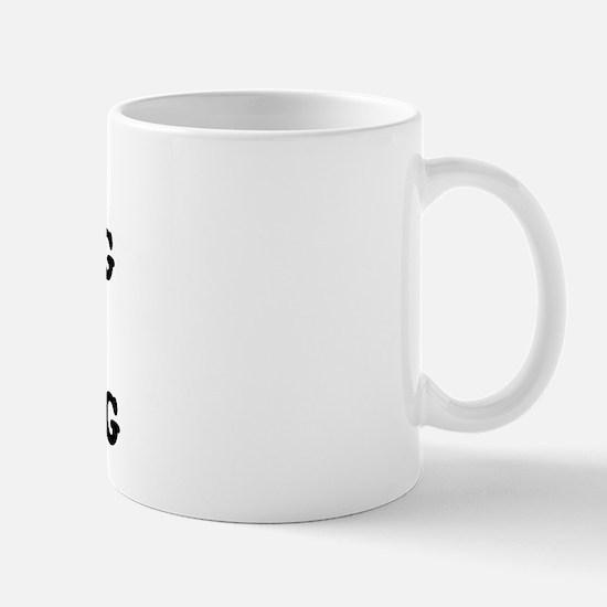 DONKEY PUNCHING IS MY ANTI-DRUG Mug