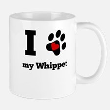 I Heart My Whippet Mugs