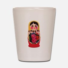 Matryoshka Russian Traditional doll Bab Shot Glass