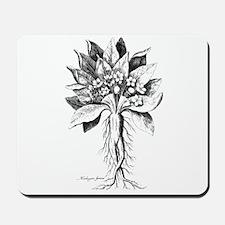 Mandragora autumn mandrake Psychedelic t Mousepad