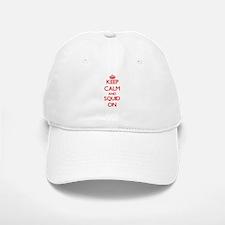 Keep calm and Squid ON Baseball Baseball Cap
