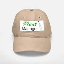 Plant Manager Baseball Baseball Cap