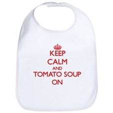 Keep calm and Tomato Soup ON Bib
