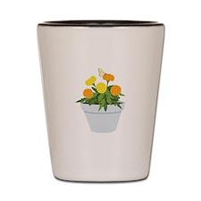 Marigold Butterfly Shot Glass